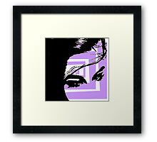 Abstract Diva Framed Print