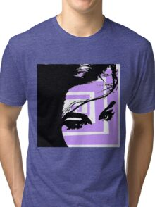 Abstract Diva Tri-blend T-Shirt
