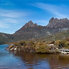 Cradle Mountain Boat House by Daniel Robertson