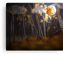 Under the Harvest Moon Canvas Print