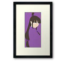 Maya Fey Framed Print
