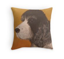 Portrait of Pickles Throw Pillow