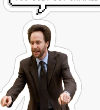 You Just Got Jammed! Sticker