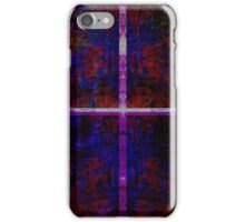 Purple and Red Reflection iPhone Case/Skin