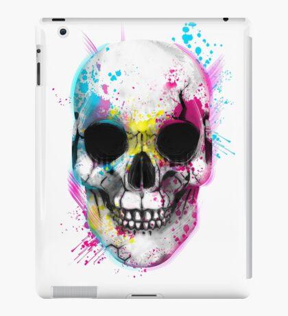 CMYK Skull iPad Case/Skin