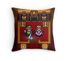 Zelda Sanctuary Throw Pillow