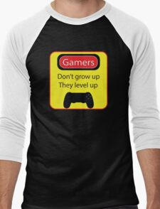 Gamers don't grow up Men's Baseball ¾ T-Shirt
