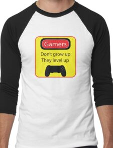 Gamers don't grow up Men's Baseball ¾ T-Shirt