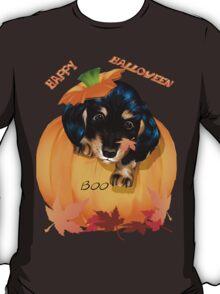Dachshund Puppy Halloween T-Shirt