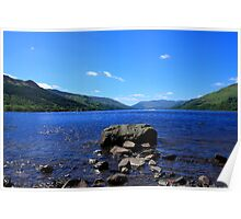 Blue Waters of Loch Earn Poster