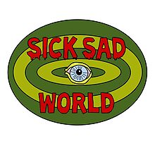 Sick Sad World by restlessbear