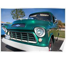'55 Chevy Panel Truck Poster