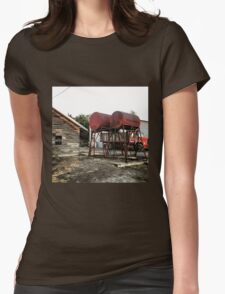 Farm equipment  Womens Fitted T-Shirt