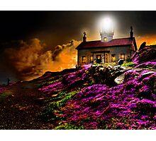 Cresent City Lighthouse Photographic Print