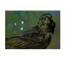 A Crow for Andy Warhol Art Print