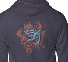Mark Of The Outsider Zipped Hoodie