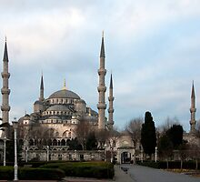 Sultan Ahmet Mosque - Blue Mosque by Peter Ede