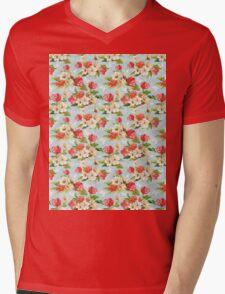 Spring Blossom Mens V-Neck T-Shirt