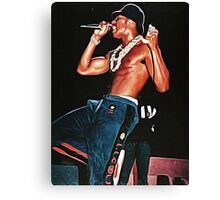 King of Stage Canvas Print