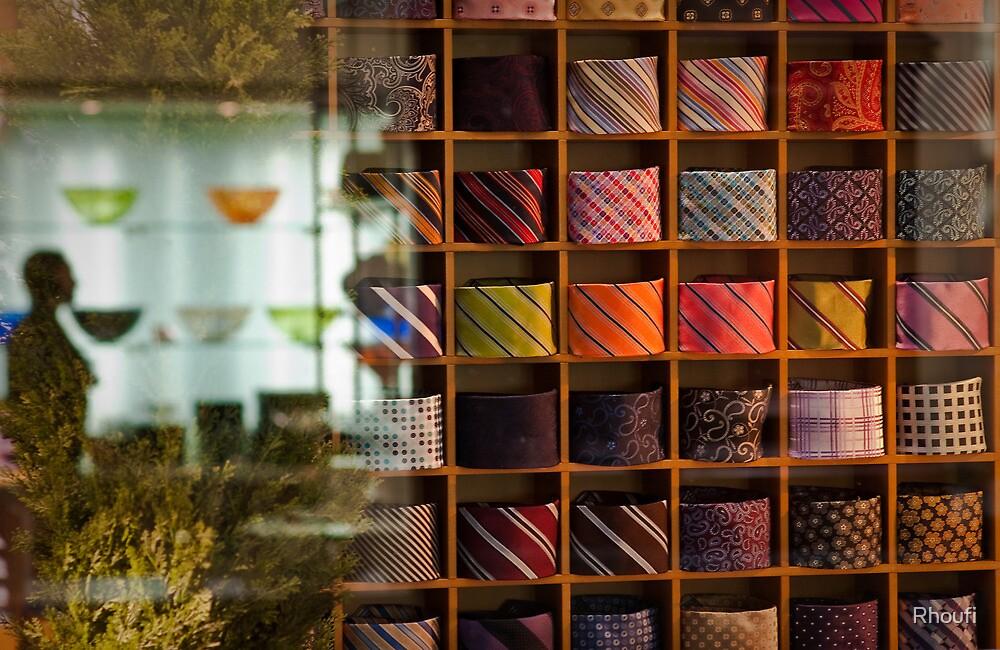 Tie Wracked by Rhoufi