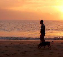 Sunrise Stroll by Sandy Woolard