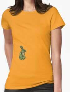 Garden Rabbit Womens Fitted T-Shirt