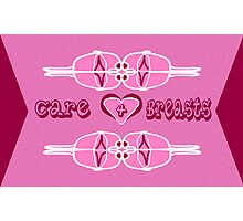 Care 4 Breasts Photographic Print