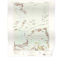 Massachusetts  USGS Historical Topo Map MA Hull 350217 1949 24000 Poster