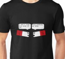 funny angry magnets Unisex T-Shirt