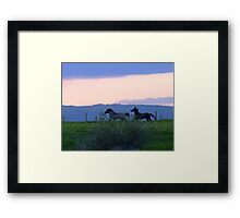 Wait For Me! Framed Print