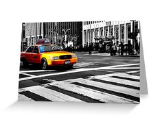 New York Transportation  Greeting Card
