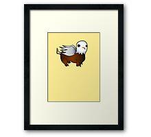 Cute Dumb Griffin Framed Print