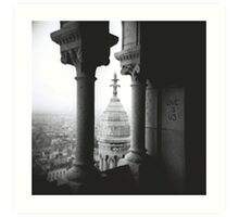 'Love is Us' - Sacre Coeur Ovoid Dome Art Print