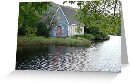 St.Finbarr's Oratory,Gougane Barra,Co.Cork,Ireland. by Pat Duggan