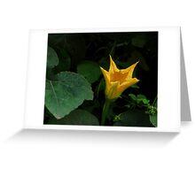 vegetable flower Greeting Card