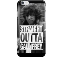 Straight Outta Gallifrey- BAKER iPhone Case/Skin
