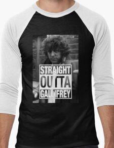Straight Outta Gallifrey- BAKER Men's Baseball ¾ T-Shirt