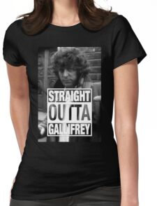 Straight Outta Gallifrey- BAKER Womens Fitted T-Shirt