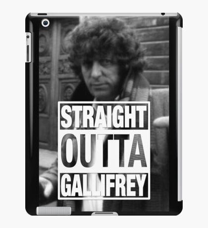 Straight Outta Gallifrey- BAKER iPad Case/Skin