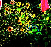 A Sunny Day in the Garden by KayleeWalter