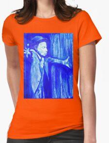 Tom Waits - Make it Rain. Womens Fitted T-Shirt