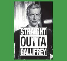 Straight Outta Gallifrey- CAPALDI Kids Tee