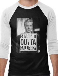 Straight Outta Gallifrey- CAPALDI Men's Baseball ¾ T-Shirt