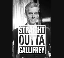 Straight Outta Gallifrey- CAPALDI Unisex T-Shirt