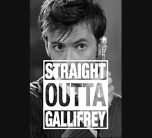 Straight Outta Gallifrey- TENNANT Unisex T-Shirt