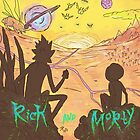 rick and morty  by boostedartwork