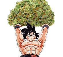goku weed by Brendon  Foreman