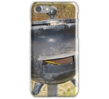 The Cast Iron Pot Box iPhone Case/Skin
