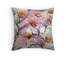 Bush Flowers  Throw Pillow