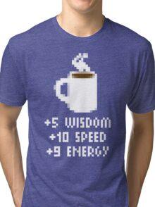 8-Bit Cofee Gear Tri-blend T-Shirt